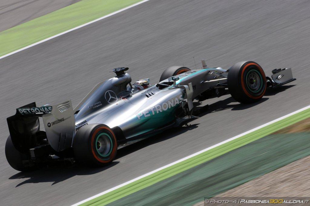 Hamilton e la Mercedes
