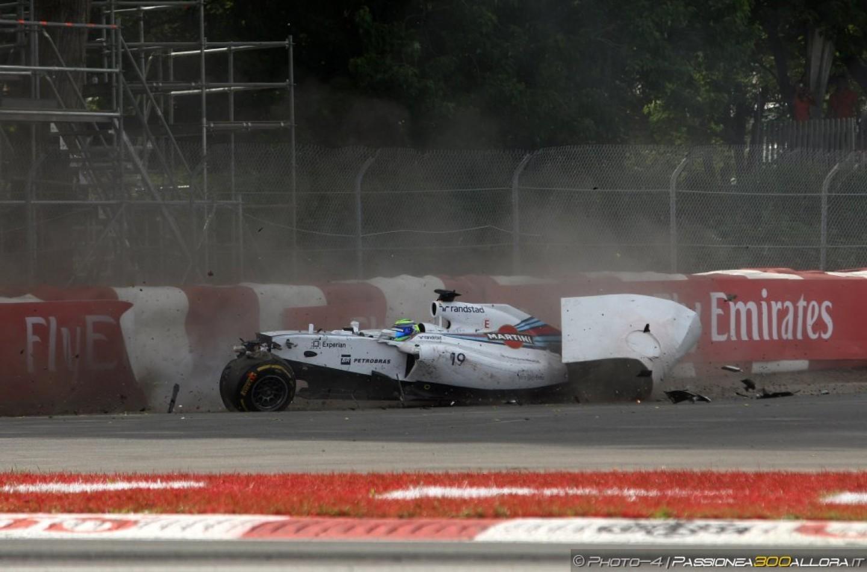 Sergio Perez e la Force India all'attacco dopo l'incidente con Massa