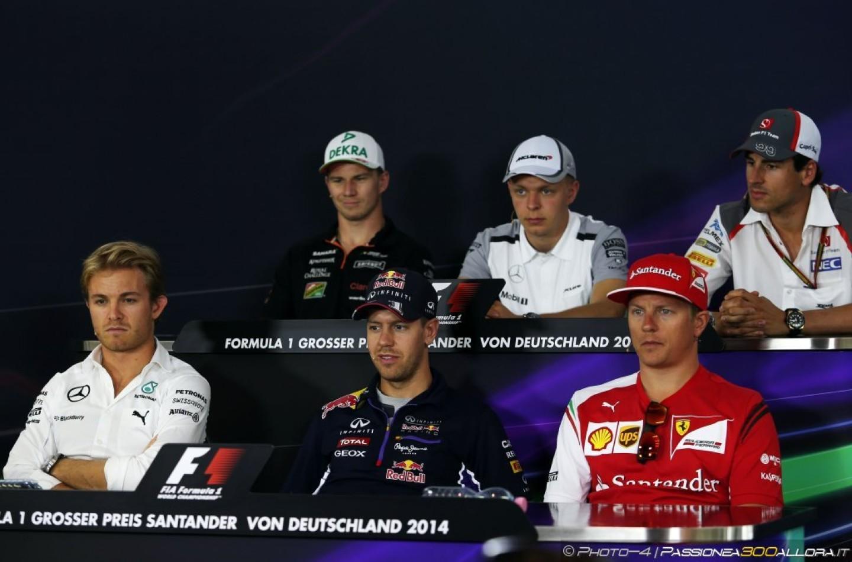 GP di Germania: la conferenza stampa dei piloti