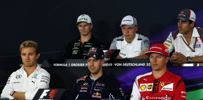 GP di Germania: la conferenza stampa dei piloti