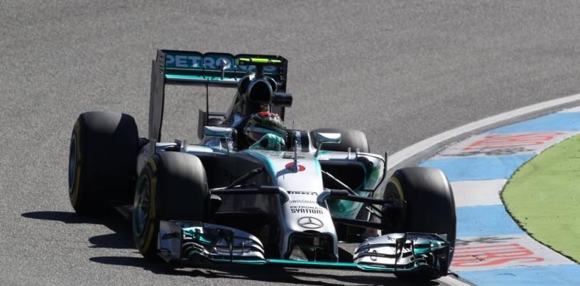 Gp di Germania, prove libere 1: il più veloce è Rosberg