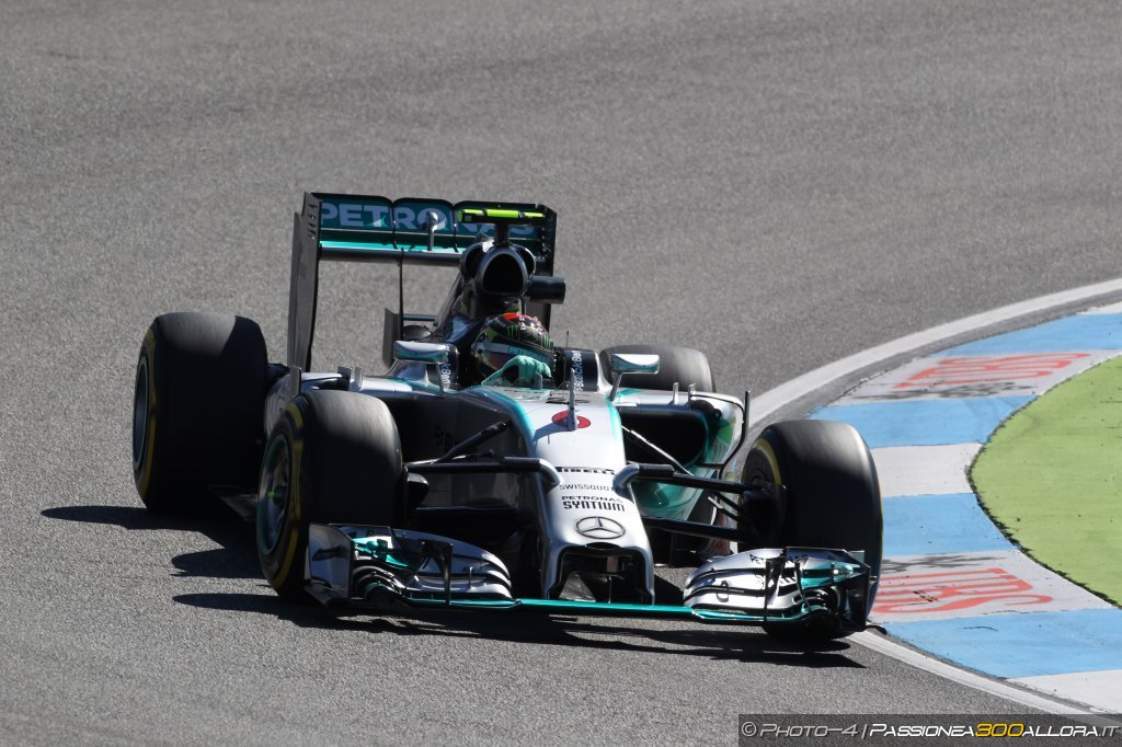 Gp di Germania , prove libere 3: miglior tempo per Rosberg, Alonso terzo