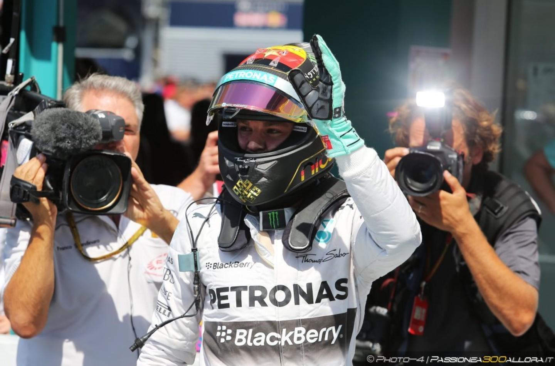 Qualifiche Gp d'Ungheria: Rosberg in Pole, Vettel in prima fila, Hamilton fuori