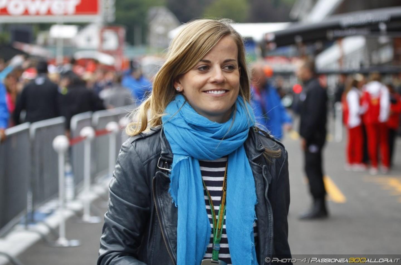 Susie Wolff correrà anche quest'anno alla Race of Champions