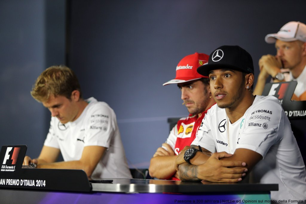 GP d'Italia: la conferenza stampa del giovedì