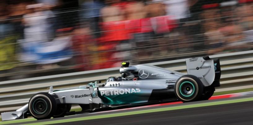 Gp del Giappone, prove libere 3: Rosberg al comando, Hamilton fuori nel finale