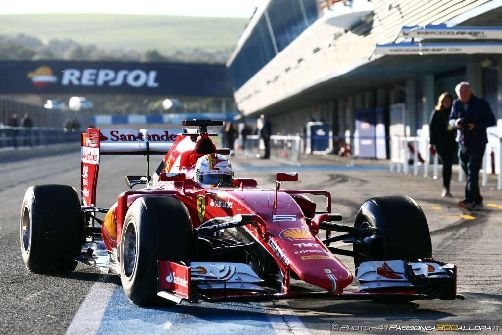 Test F1 a Jerez, giornata 2: Vettel ancora davanti al mattino