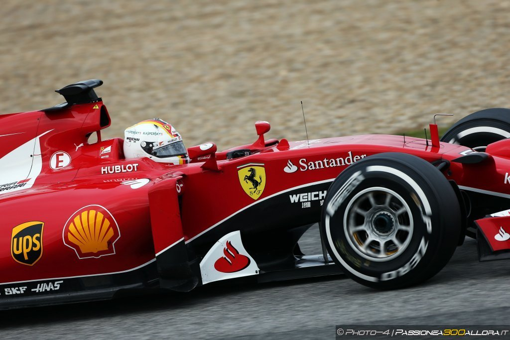 Test F1 a Jerez: Vettel conclude al comando anche la seconda giornata