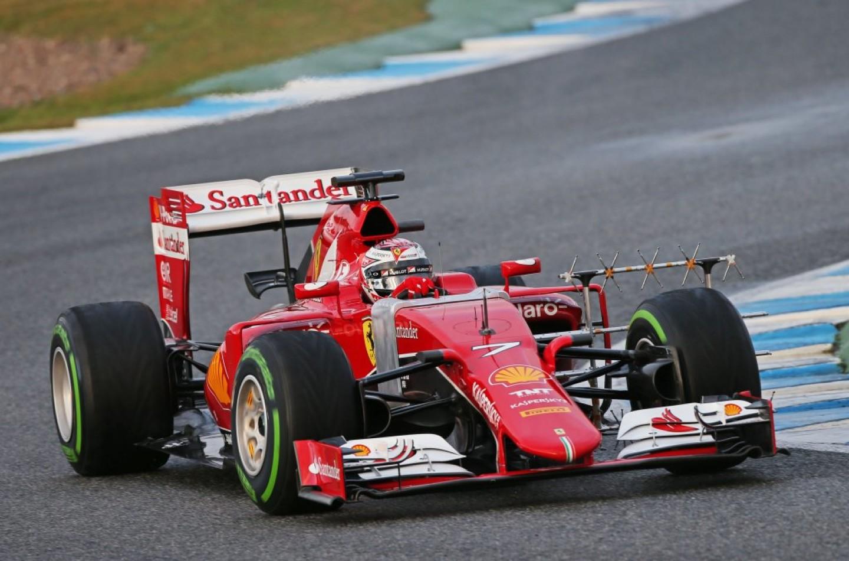 Test F1 a Jerez, giorno 3: Raikkonen più veloce al mattino