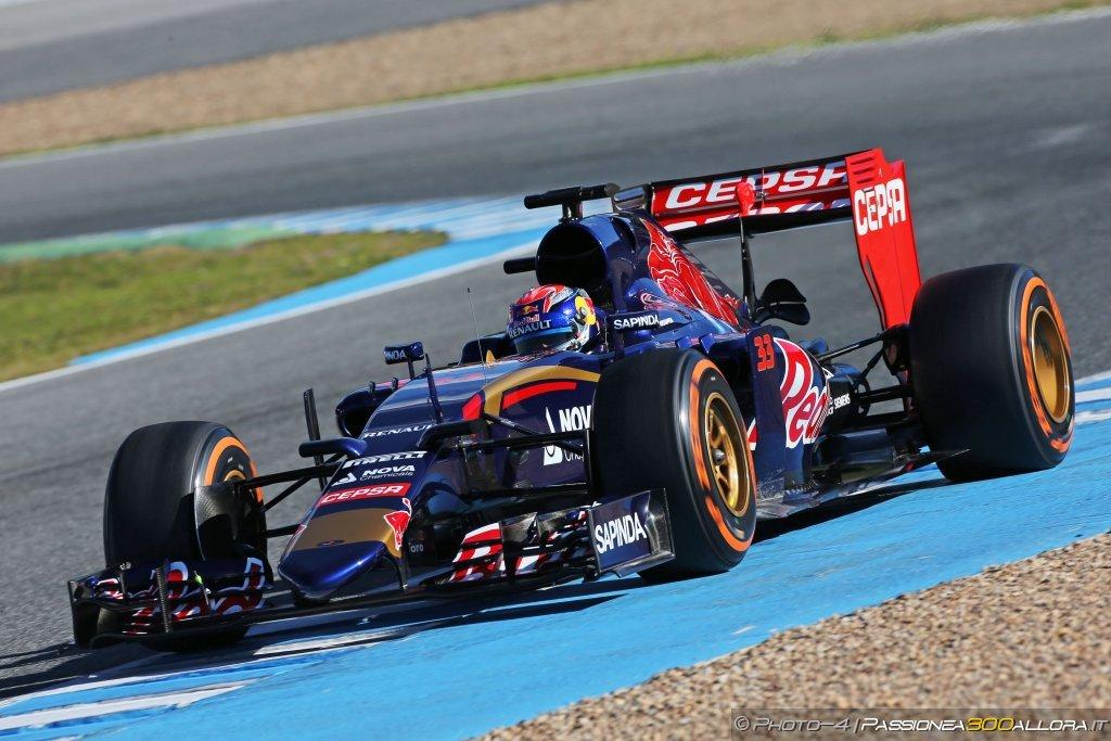 Toro Rosso comunica la line-up per i test di Barcellona