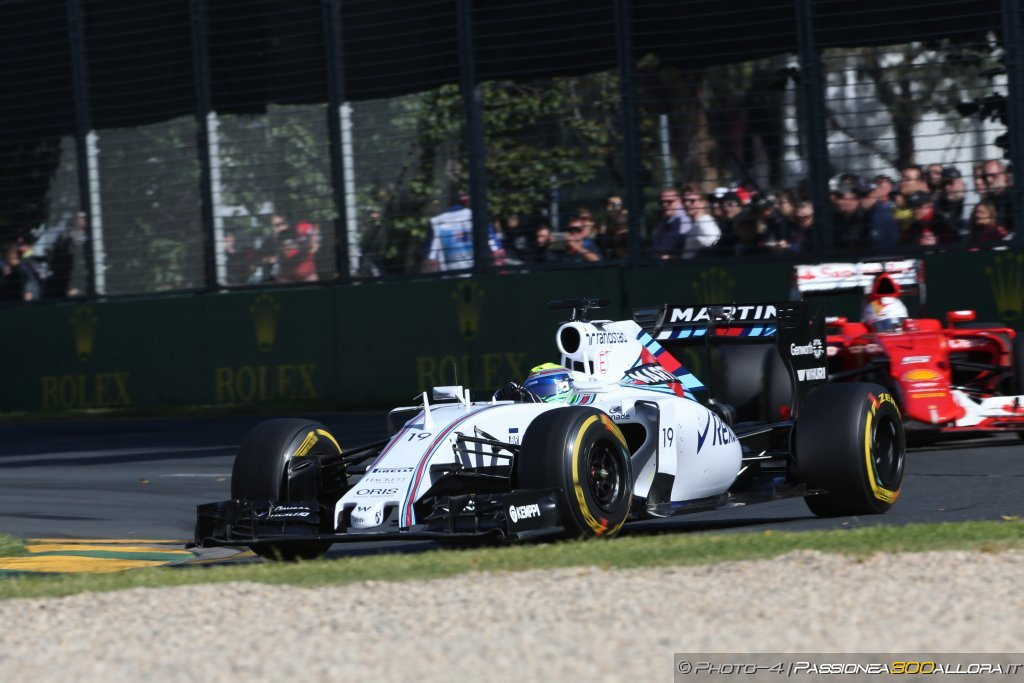 Williams: ottimismo a metà