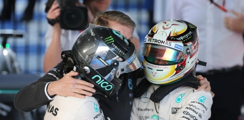 F1 | GP del Messico, Mercedes: Rosberg e Hamilton si punzecchiano