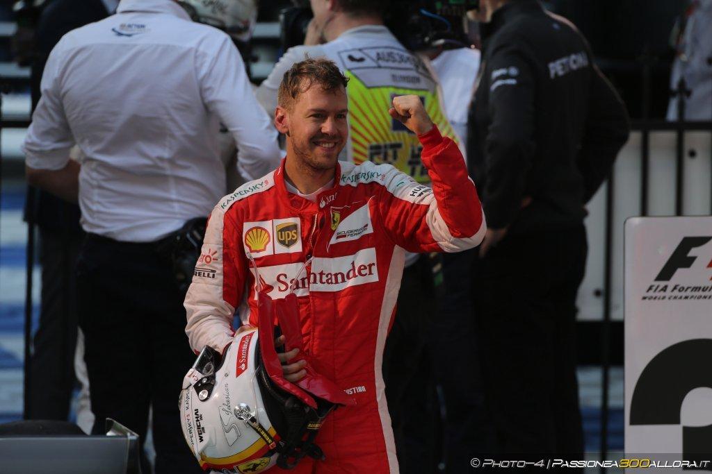 Seb, the power of emotions. Questa è la F1, signori