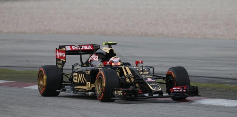 La Lotus difende l'inizio di stagione di Maldonado