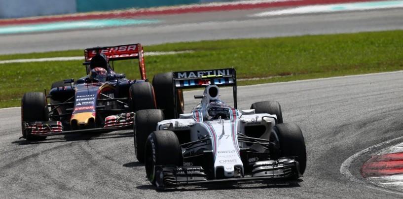 GP della Malesia, post-gara: le dichiarazioni di Red Bull, Toro Rosso, Williams