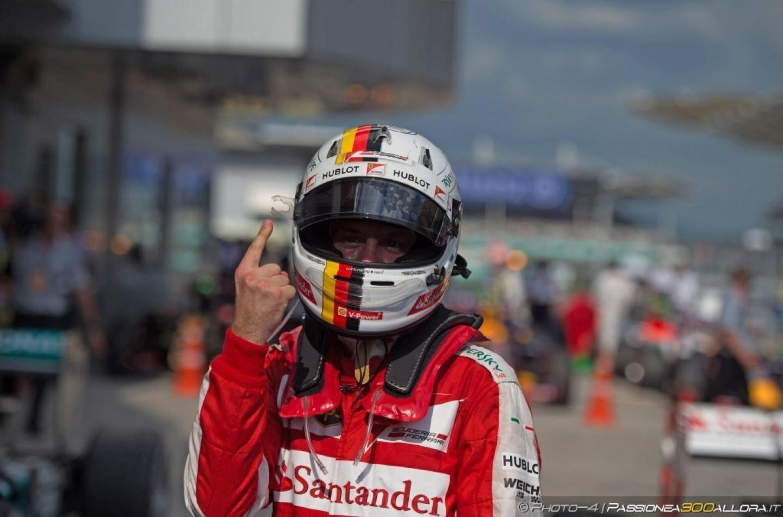 F1 | Il motivo dietro il 'ditino' di Sebastian Vettel