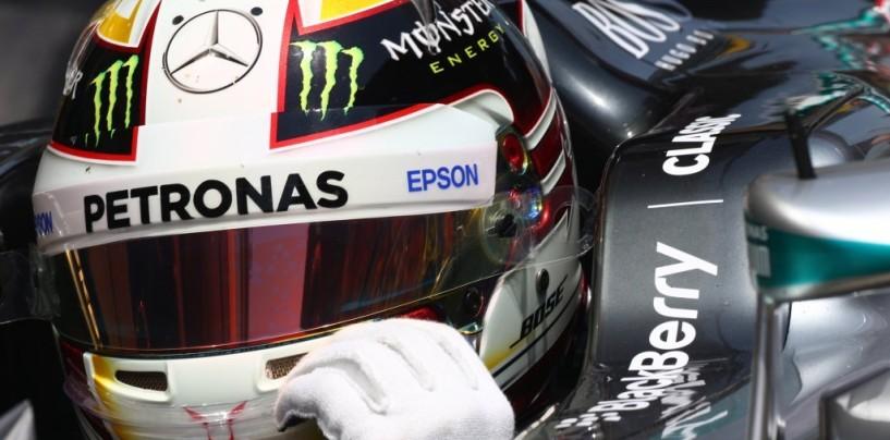 GP d'Italia, libere 1: Hamilton al comando, Mercedes imprendibili
