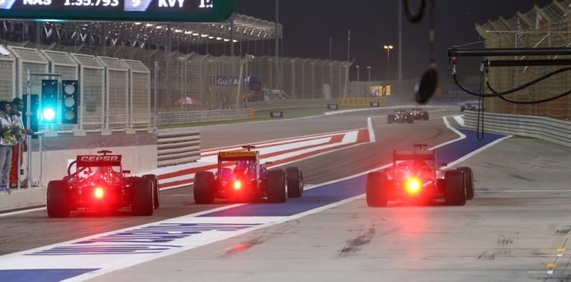 GP del Bahrain 2015: la griglia di partenza