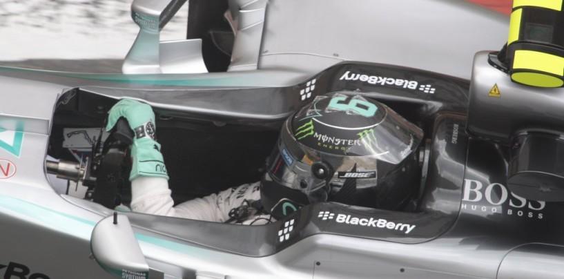 Rosberg Re di una pazza Montecarlo: Vettel e un furioso Hamilton sul podio
