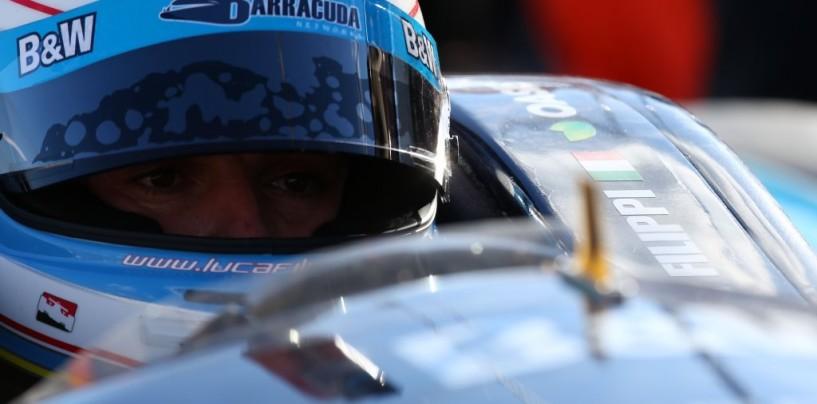 Luca Filippi in Indycar nel 2015 con Carpenter