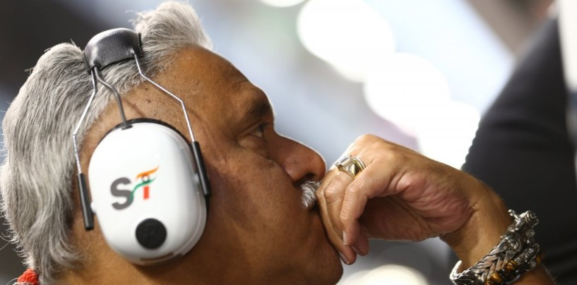 """Vijay Mallya: """"Vogliamo andare più volte a podio nel 2015"""""""
