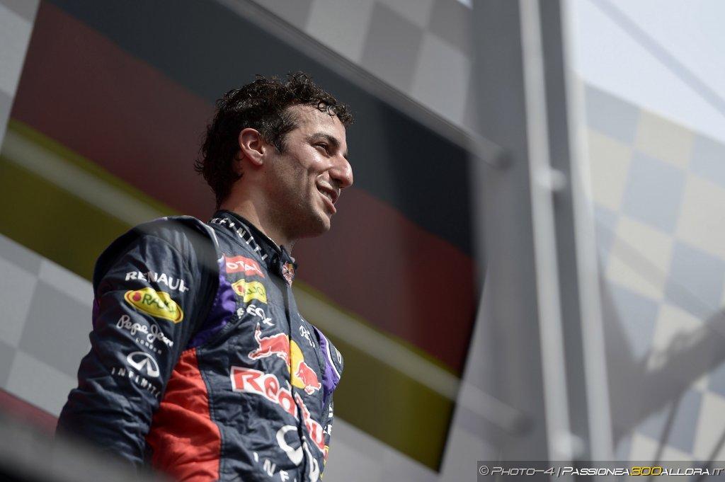 Daniel Ricciardo ha vinto il Trofeo Lorenzo Bandini