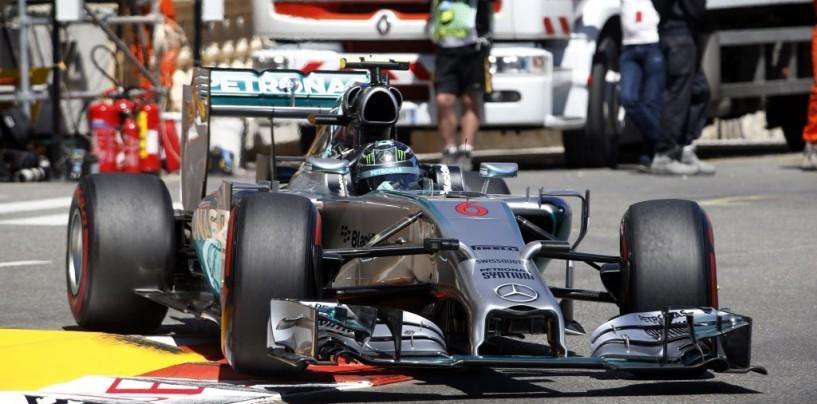 Gp di Gran Bretagna, libere 1: Nico Rosberg comanda il gruppo