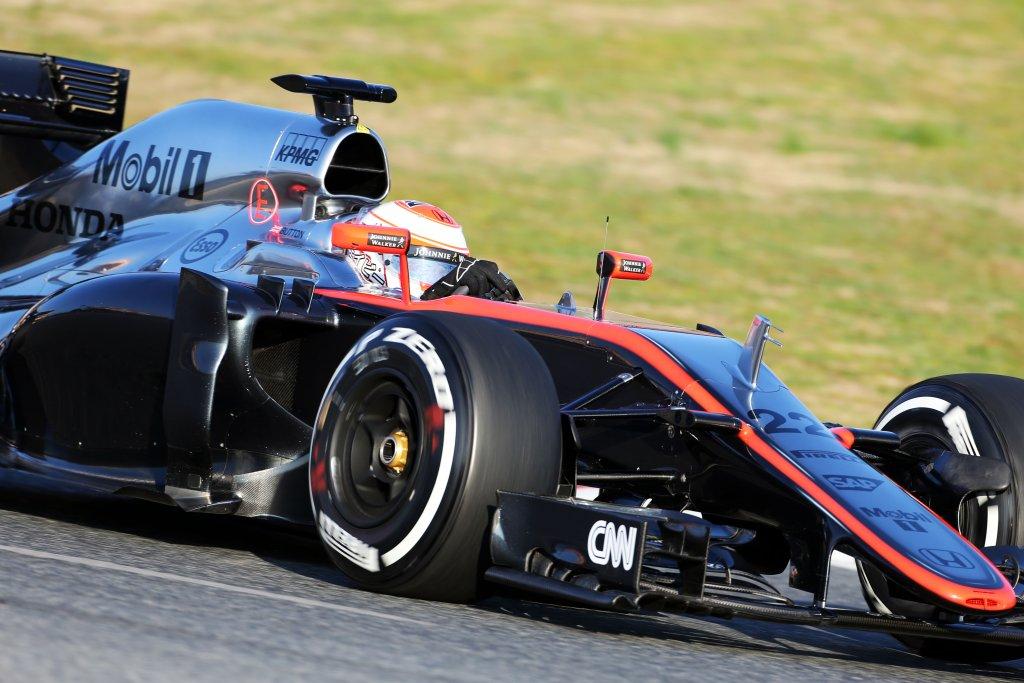 McLaren, Button: