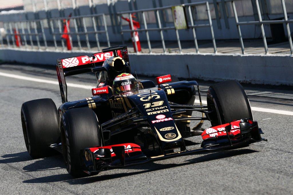 Test Barcellona, Maldonado il più veloce al termine del primo giorno