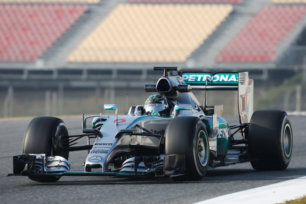 Barcellona, giorno 2: Rosberg gela tutti